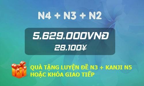 Combo N4+N3+N2