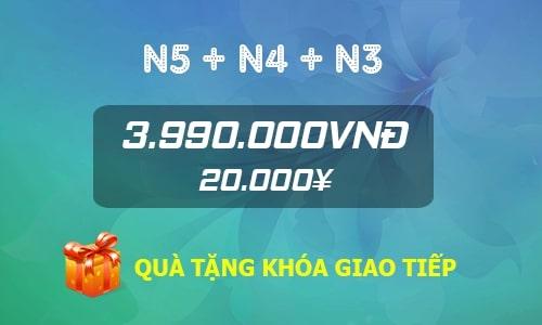 Combo N5+N4+N3