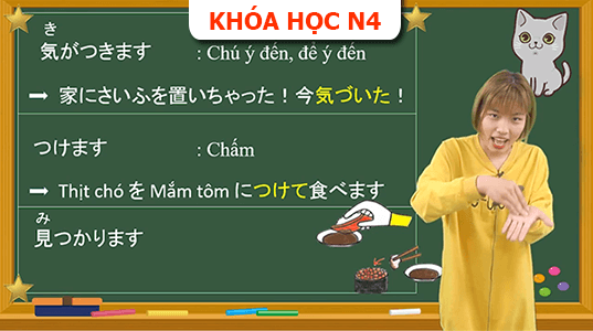 Khóa học N4