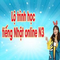 Lộ trình học tiếng Nhật online N3