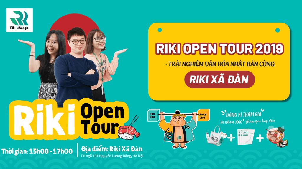 Riki-open-tour